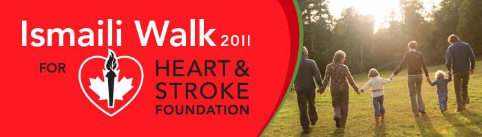 123Dentist.com Sponsors Ismaili Walk 2011 for Heart & Stroke Foundation