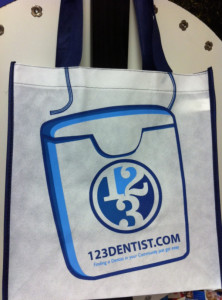 123Dentist Grocery Bags