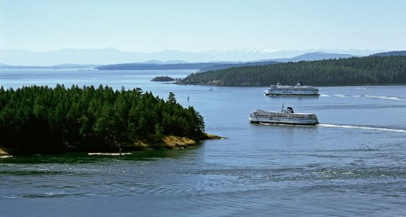 BC Ferries Route