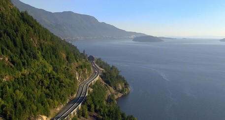 Sea-to-Sky Highway Route