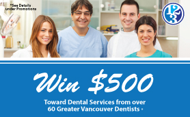 Enter to win $500 in dental services