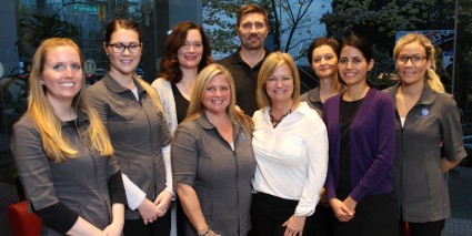 Dental team at Georgia Dental in downtown Vancouver