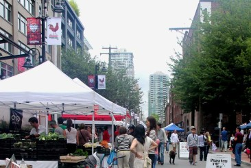 The Yaletown Farmers Market