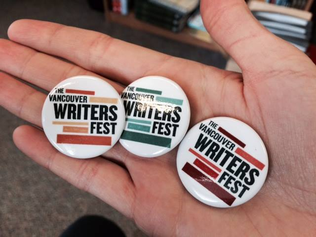 The Vancouver Writers Festival 2015