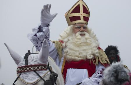A modern Sinterklaas from the Netherlands
