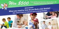 september monthly tooth fairy $500 giveaway promo contest