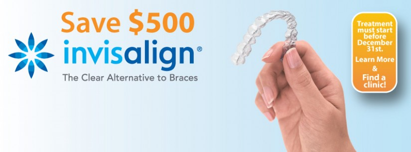 Invisalign Coupon – Save $500 from 123Dentist