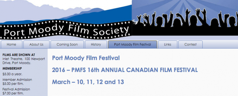 Port Moody Canadian Film Festival in Port Moody