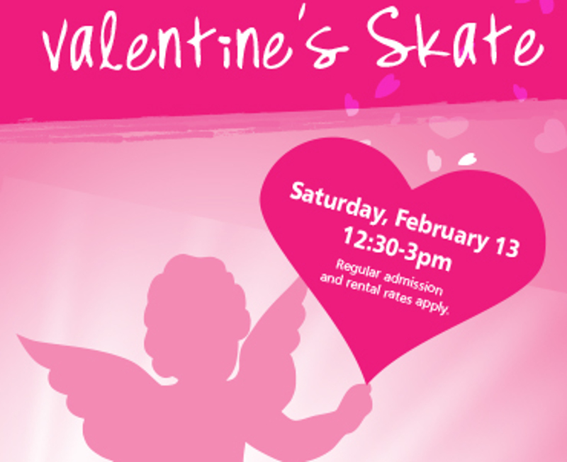 Valentine's Skate in Burnaby