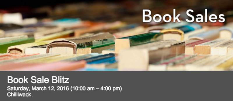 Book Sale Blitz in Chilliwack