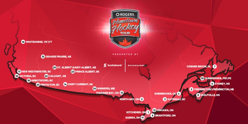 Rogers Hometown Hockey Tour in Abbotsford
