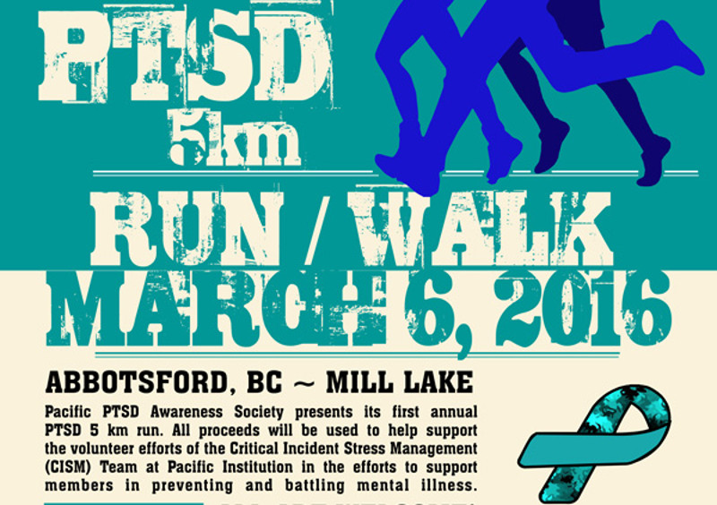 PTSD Run/Walk in Abbotsford