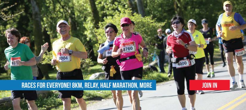 BMO Vancouver Marathon in Vancouver