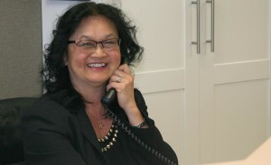 A friendly receptionist, like Cathy from Willowbrook Park Dental, will be happy to make your next appointment!