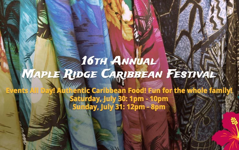Maple Ridge Caribbean Festival in Maple Ridge