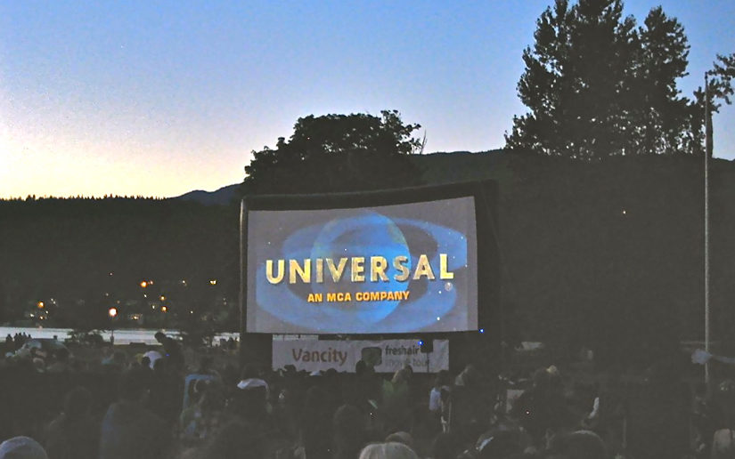 Cinema Under the Stars in Port Coquitlam