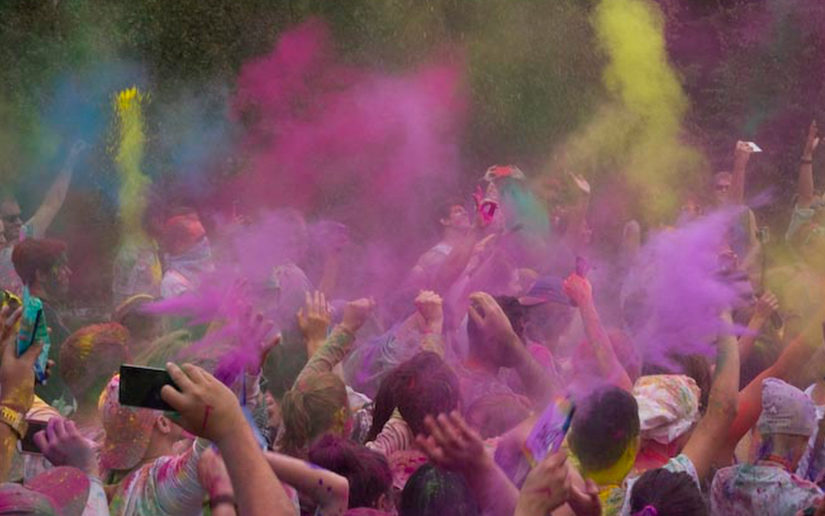 Holi Colour Festival in Surrey
