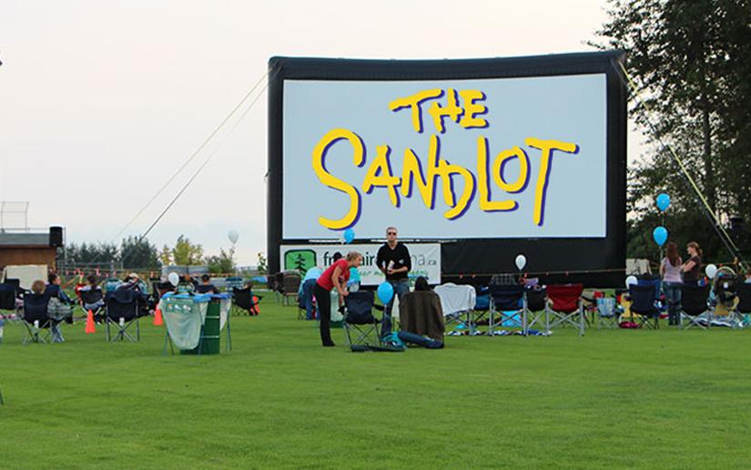 Movie in the Park in Aldergrove