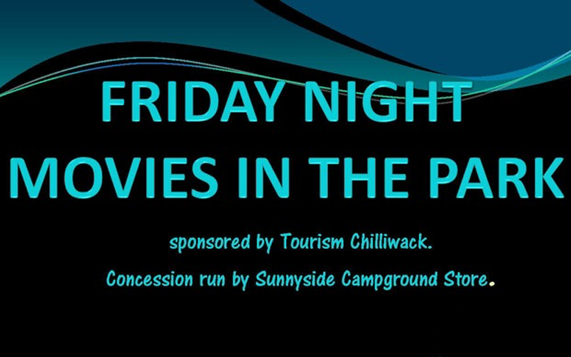 Friday Night Movies in the Park in Chilliwack