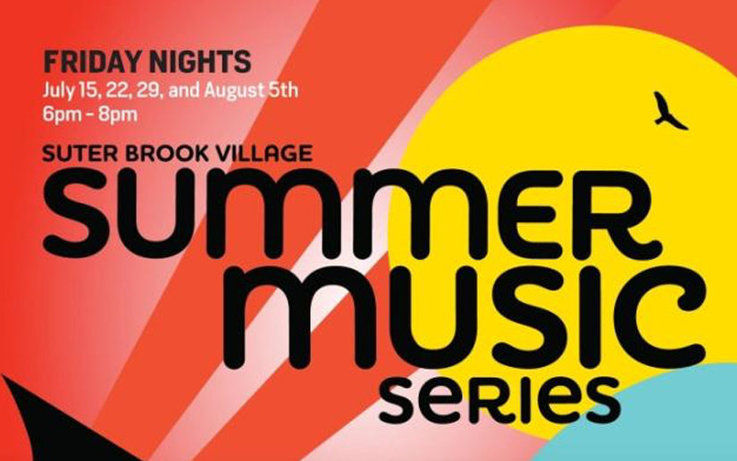 Suter Brook Village Summer Music Series in Port Moody