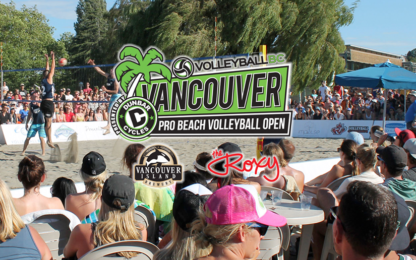 Vancouver Open Pro Beach Volleyball Tournament in Vancouver