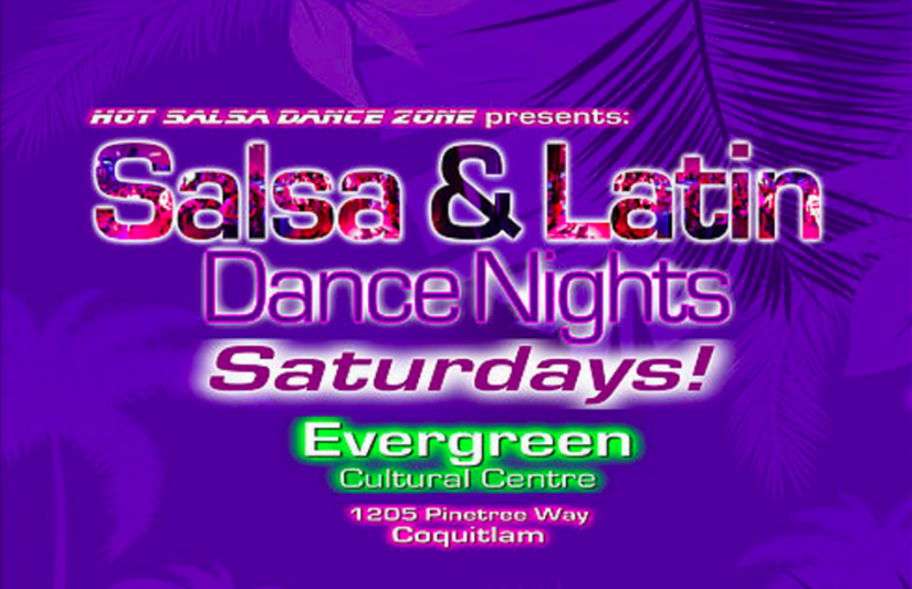Salsa & Latin Dance Night in Coquitlam