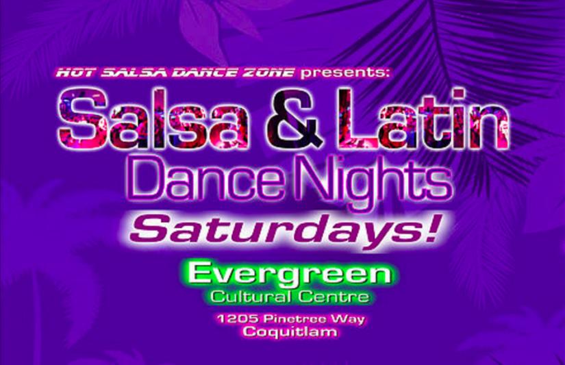 Salsa & Latin Dance Night in Coquitlam