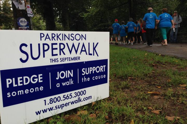 Parkinson SuperWalk in Richmond