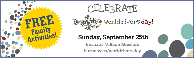 World Rivers Day in Burnaby