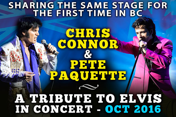 A Tribute To Elvis in Maple Ridge