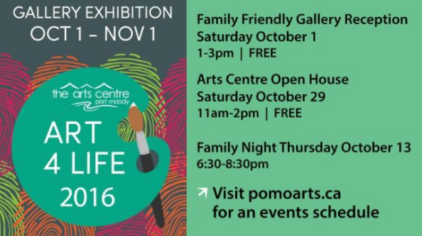Arts Centre Open House in Port Moody