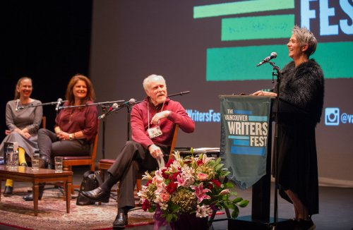 Vancouver's Writers Fest in Vancouver