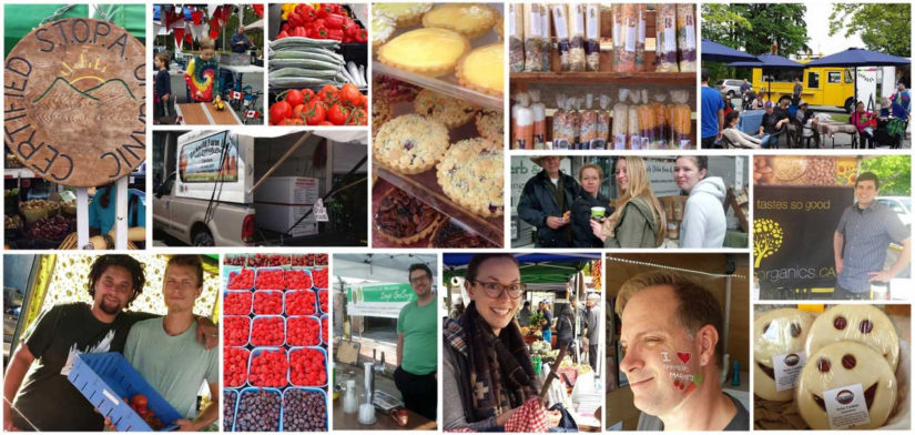 Ambleside Artisan Farmer's Market in West Vancouver