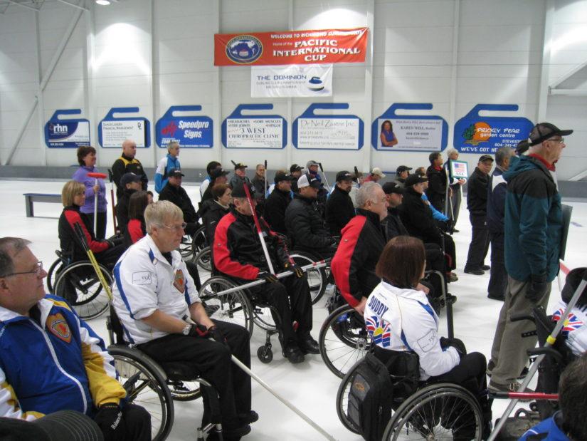 Richmond International Wheelchair Curling Bonspiel in Richmond