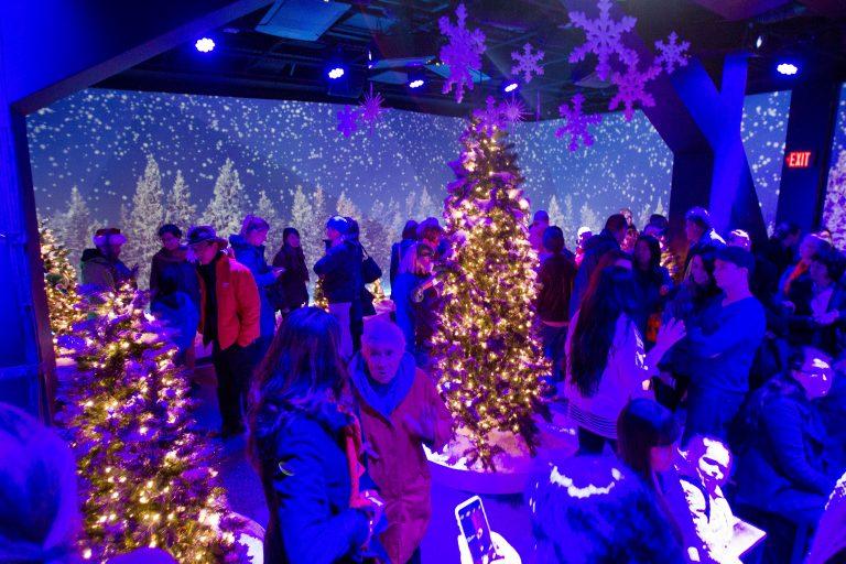 Christmas @ FlyOver Canada in Vancouver