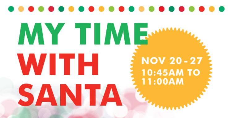 My Time With Santa in Abbotsford