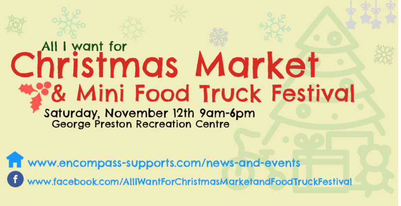 All I Want For Christmas Market & Mini Food Truck Festival in Langley