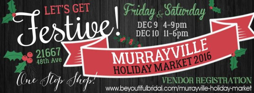 Murrayville Holiday Market in Langley