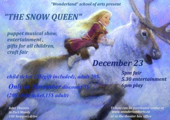 The Snow Queen in Port Moody