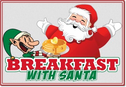 Breakfast with Santa in Port Coquitlam