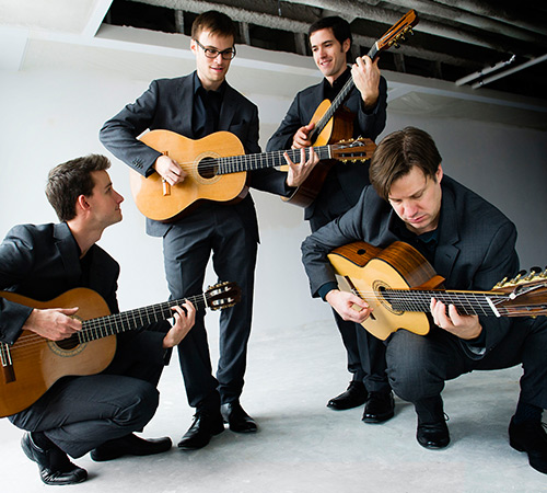 Canadian Guitar Quartet in Abbotsford
