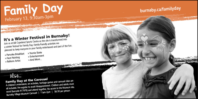 Family Day Events in Burnaby
