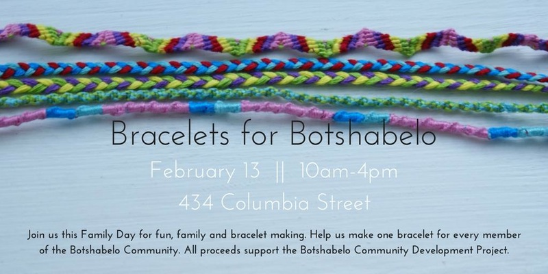 Bracelets for Botshabelo in Vancouver