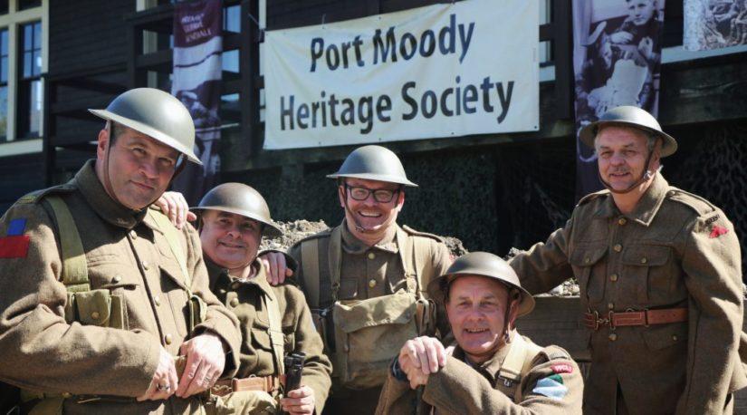 Vimy Ridge Event in Port Moody