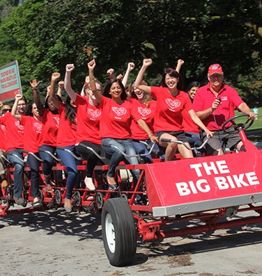 Big Bike-Heart and Stroke Foundation in Chilliwack