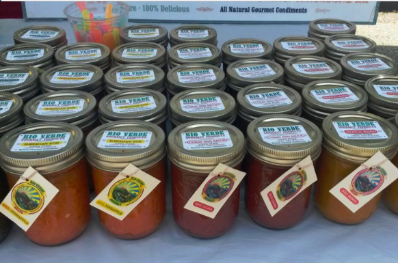 The Ambleside Farmers Market in West Vancouver