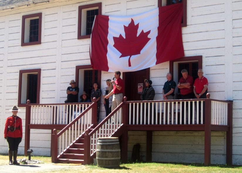 Canada Day @ Fort Langley in Langley