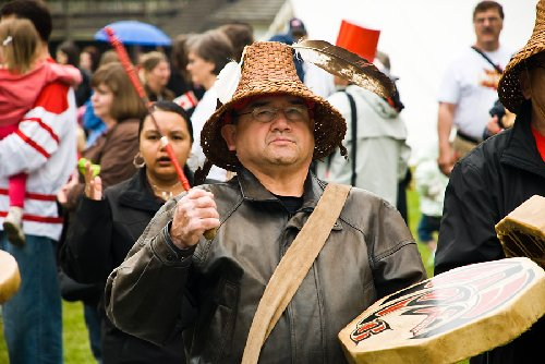 Aboriginal Day at Fort Langley in Langley