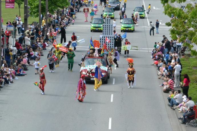 Teddy Bear Picnic Grande Parade in Coquitlam