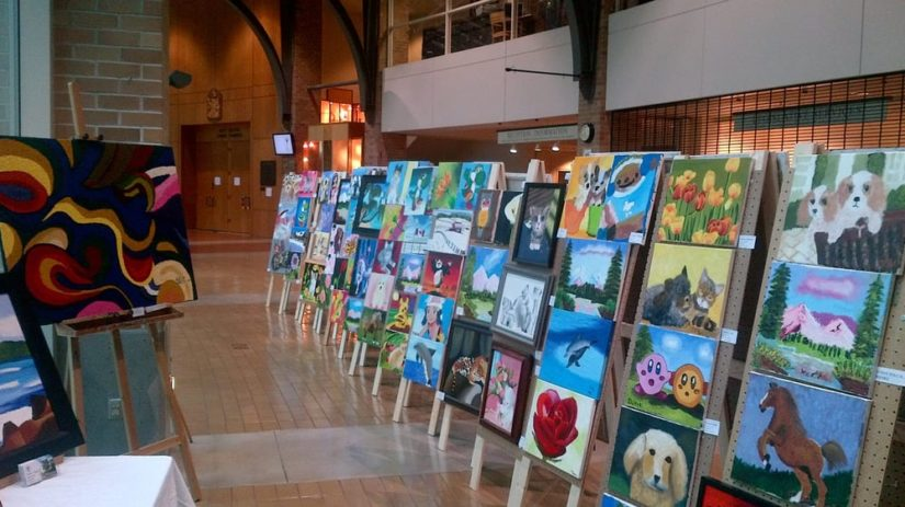 Children's Art Festival in Port Moody